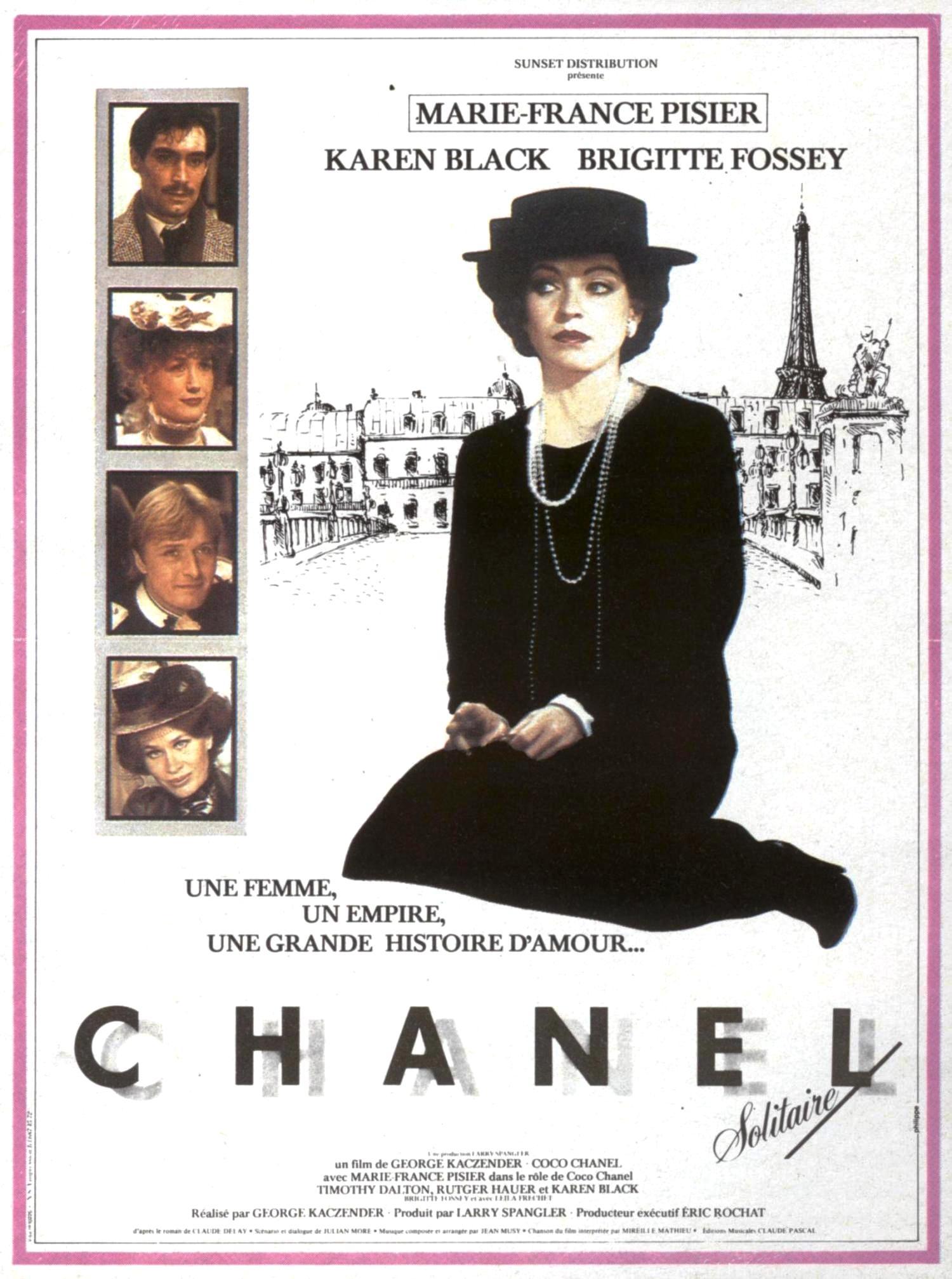 affiche du film Chanel solitaire