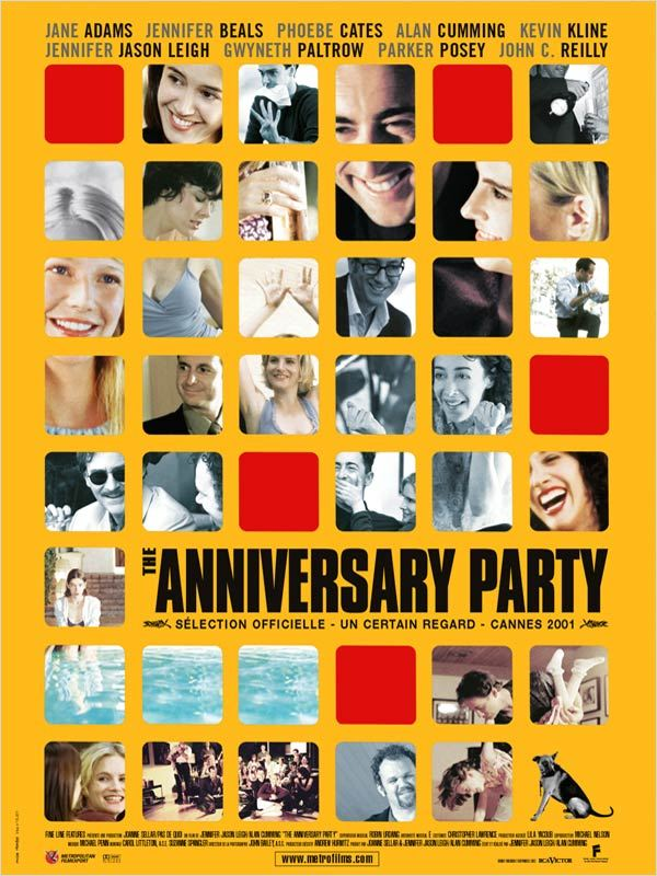 affiche du film The Anniversary Party