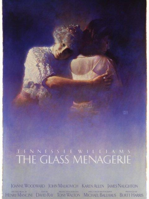 affiche du film La Ménagerie de verre