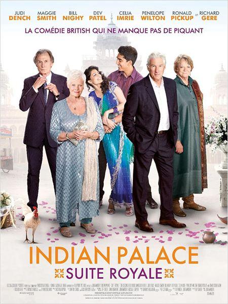 affiche du film Indian Palace : Suite royale