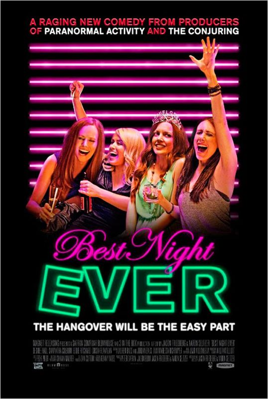 affiche du film E.V.J.F Party: Enterrement de vie de jeune fille