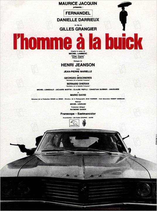 affiche du film L'Homme à la buick