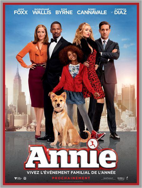 affiche du film Annie (2014)