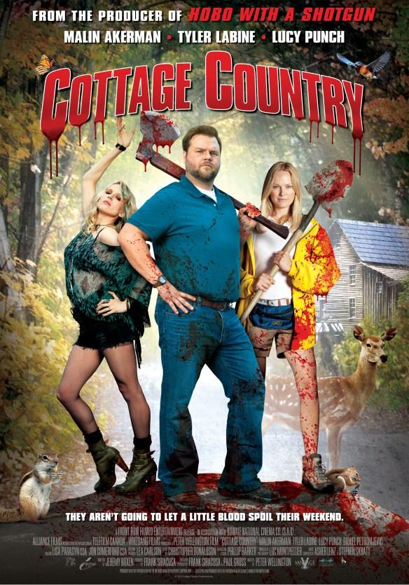 affiche du film Cottage Country
