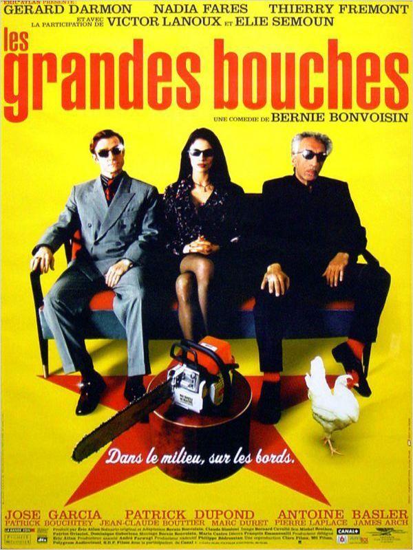 affiche du film Les Grandes bouches