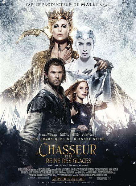 affiche du film Le Chasseur et la Reine des Glaces