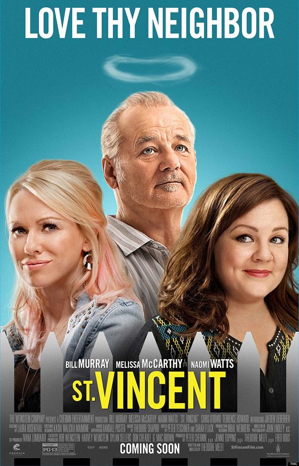 affiche du film St. Vincent