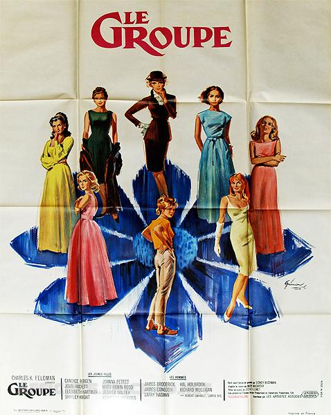 affiche du film Le groupe