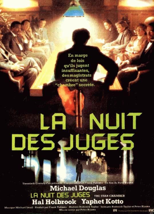 affiche du film La nuit des juges