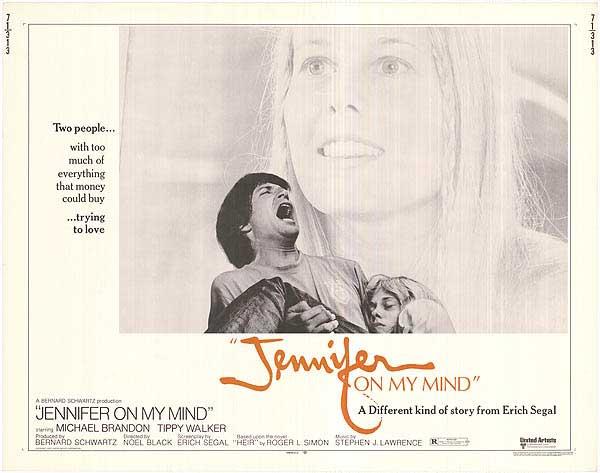 affiche du film Jennifer on My Mind