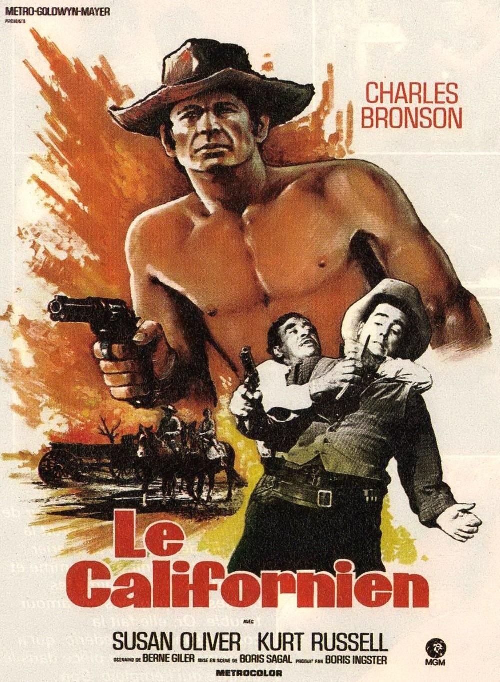 affiche du film Le Californien