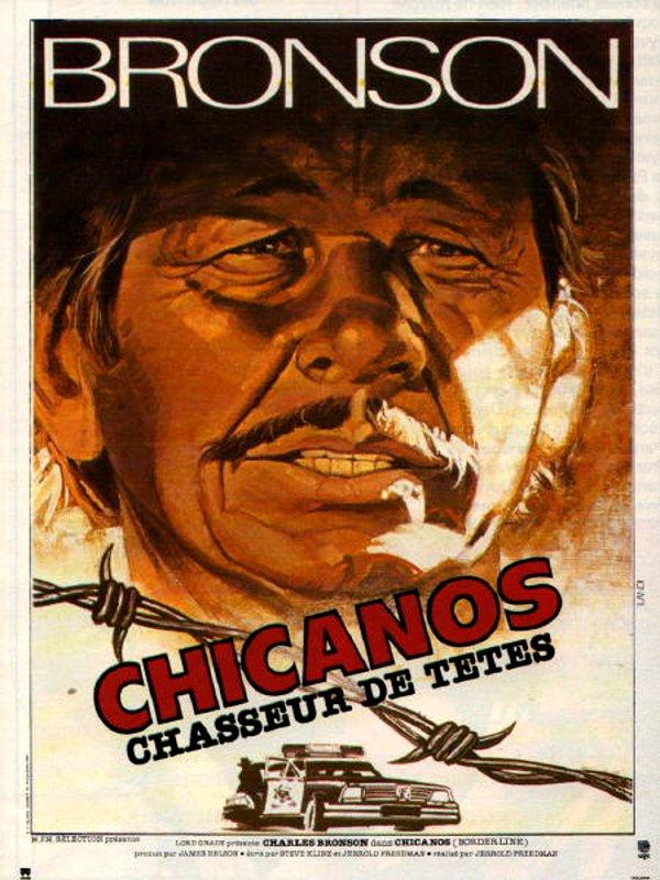 affiche du film Chicanos, chasseur de têtes