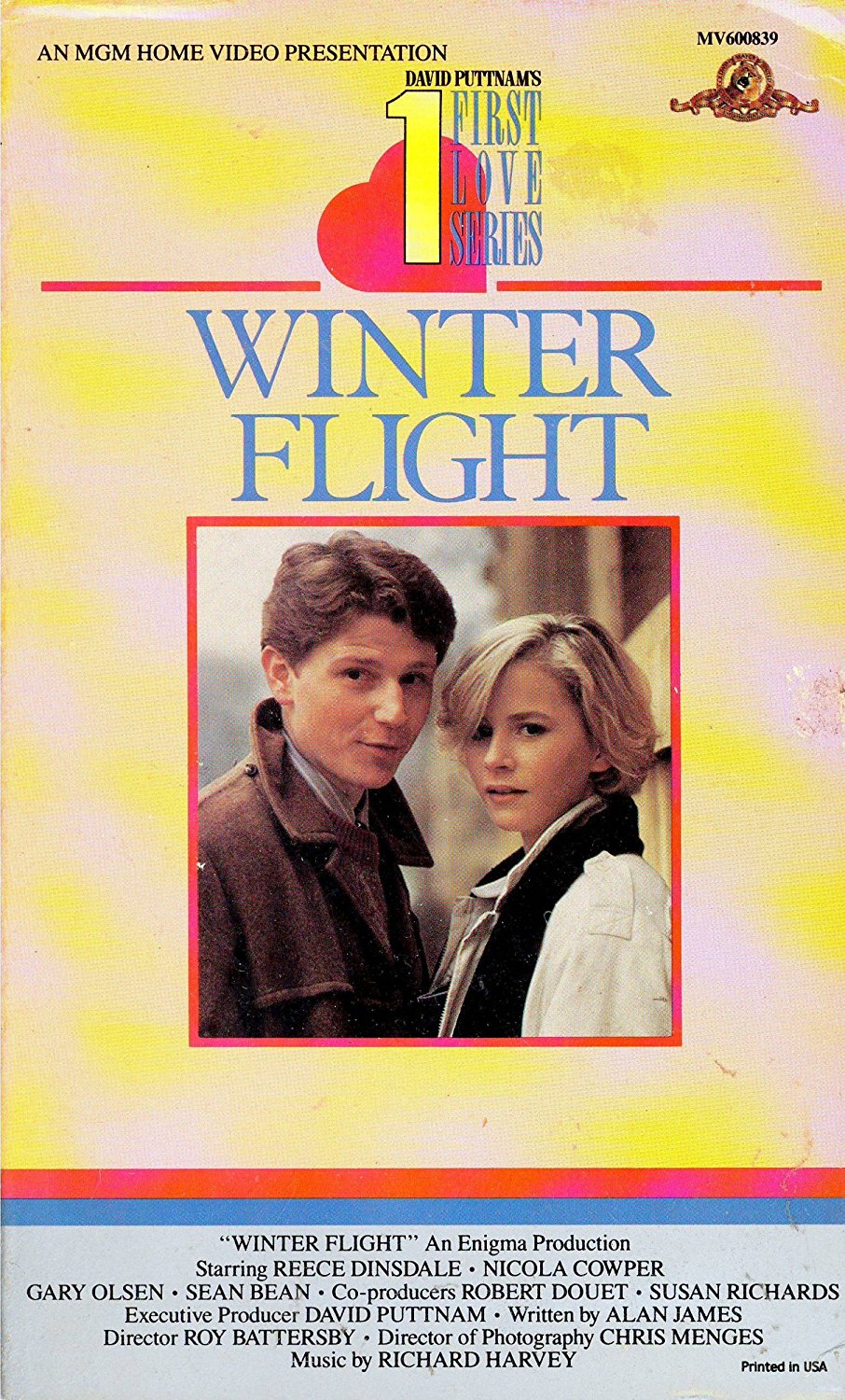 affiche du film Winter Flight