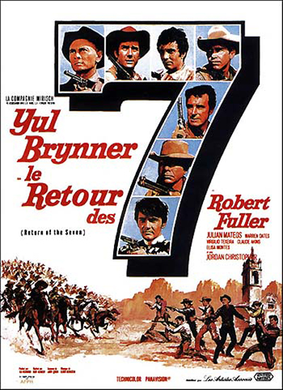 affiche du film Le Retour des sept