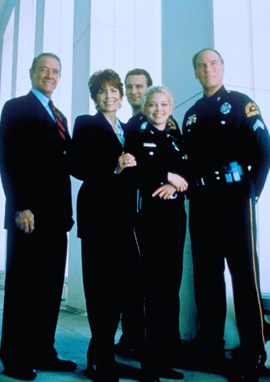 affiche du film Au service de la loi (TV)