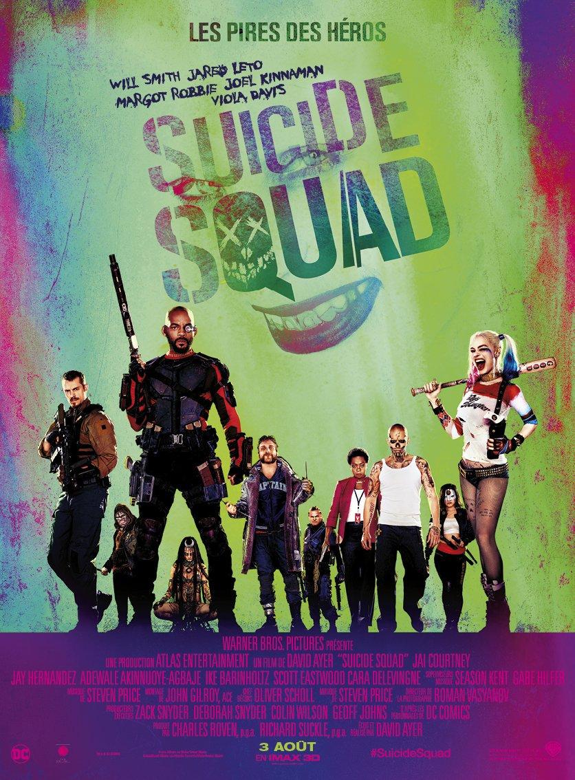 affiche du film Suicide Squad