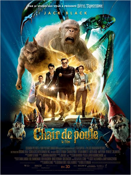 affiche du film Chair de Poule, Le film