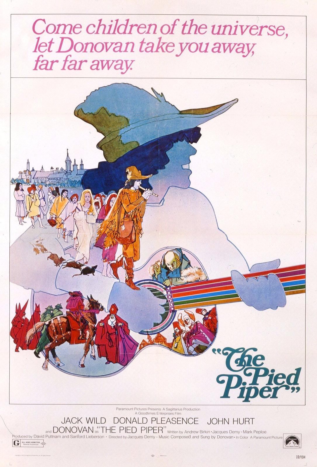 affiche du film Le Joueur de flûte