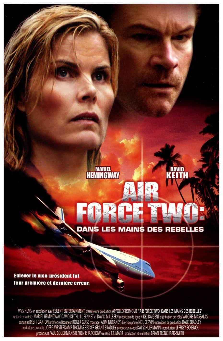 affiche du film Air Force 2: Dans les mains des rebelles