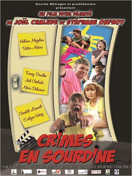 affiche du film Crimes en sourdine