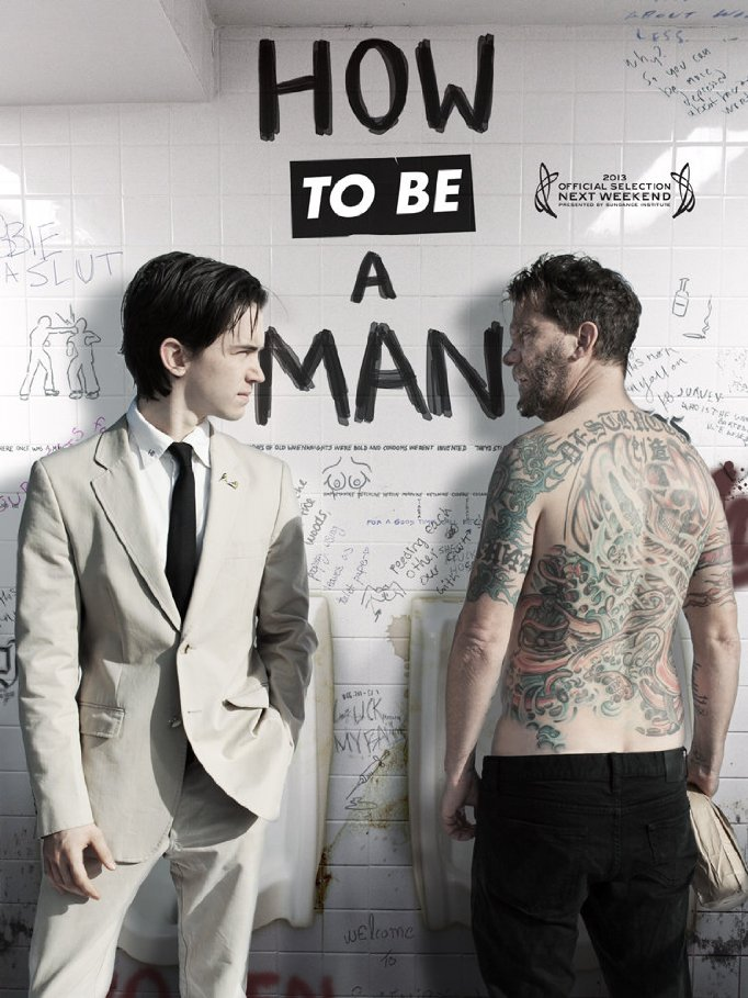 affiche du film How to Be a Man