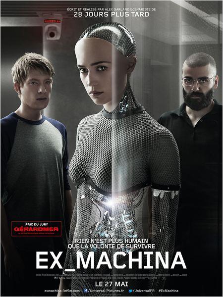 affiche du film Ex Machina