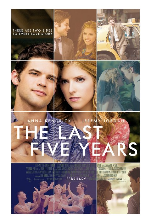 affiche du film The Last Five Years