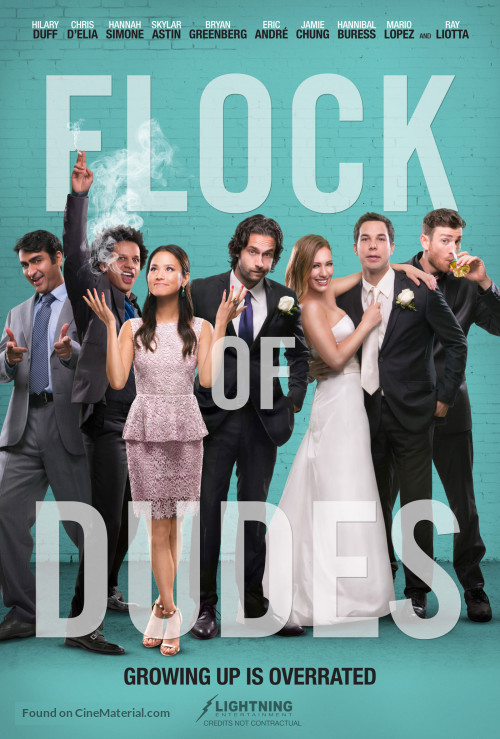 affiche du film Flock of Dudes