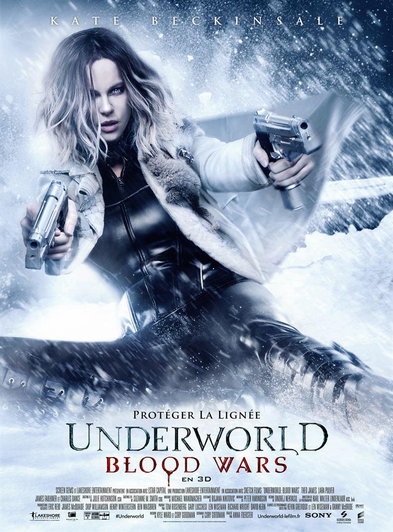 affiche du film Underworld: Blood Wars