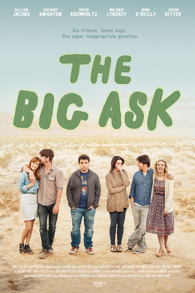 affiche du film The Big Ask