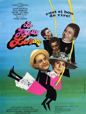 affiche du film Les Joyeux Lurons