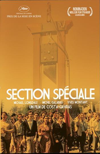affiche du film Section spéciale