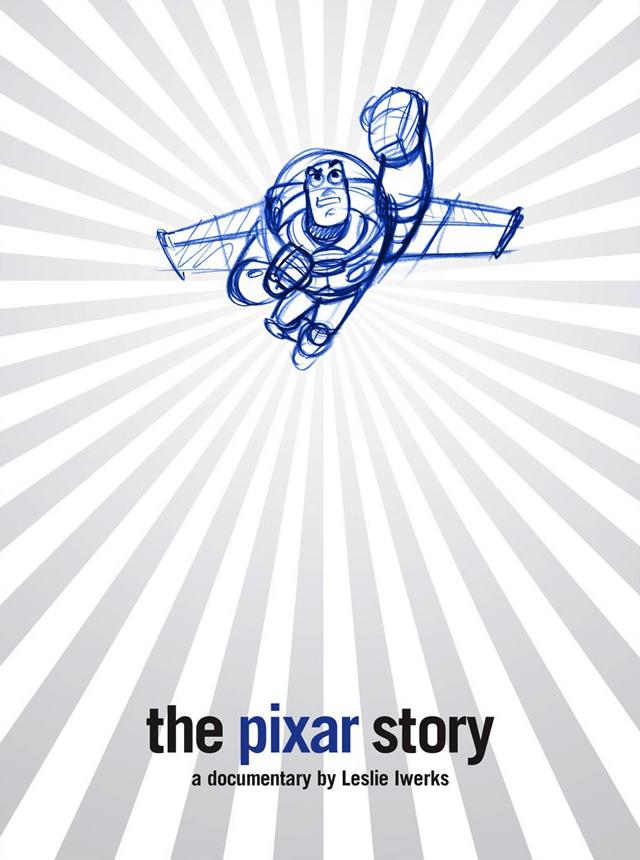 affiche du film L'histoire de Pixar