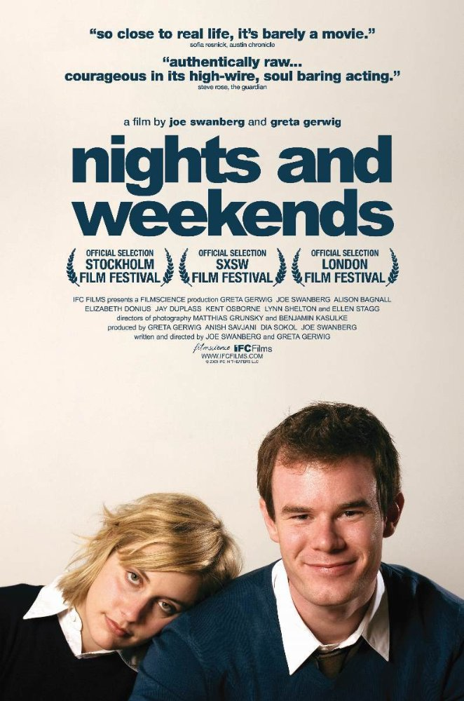 affiche du film Nights and Weekends