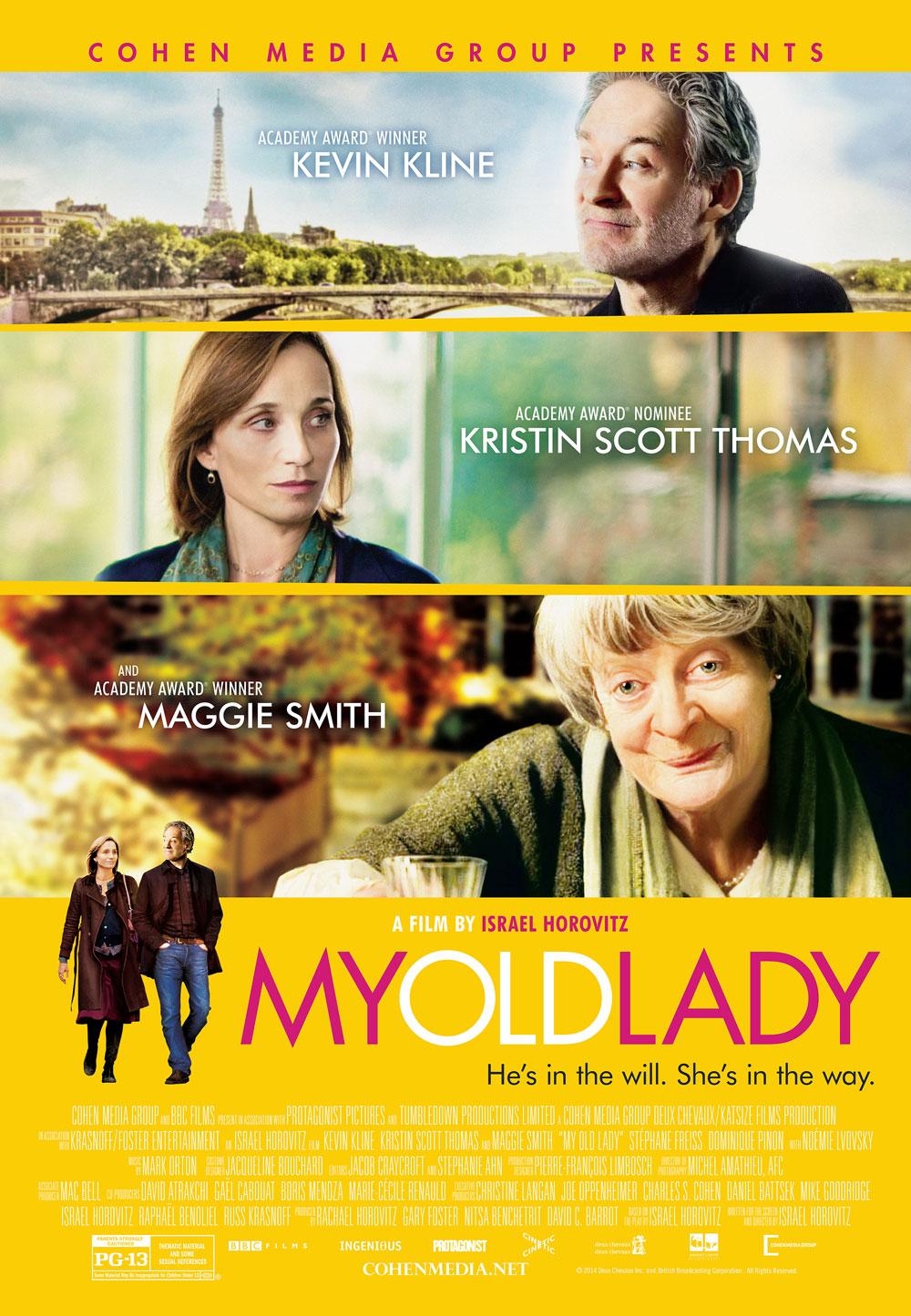 affiche du film My Old Lady