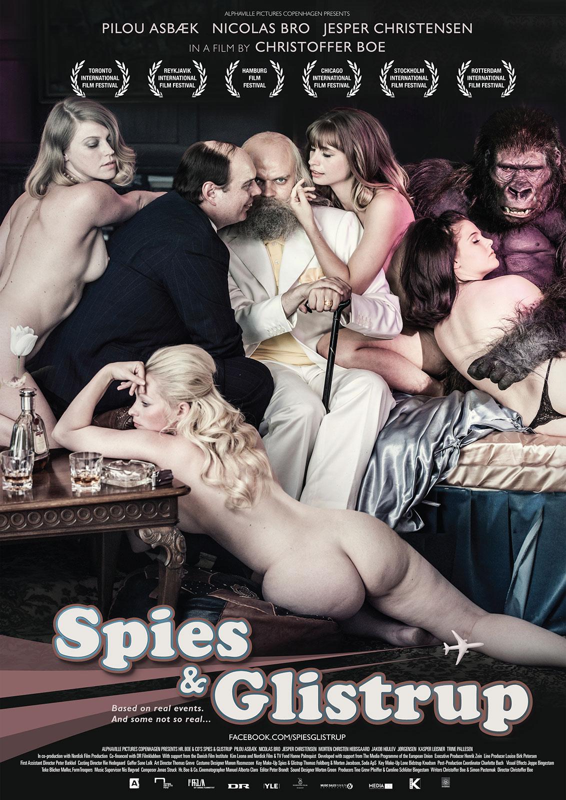 affiche du film Spies & Glistrup