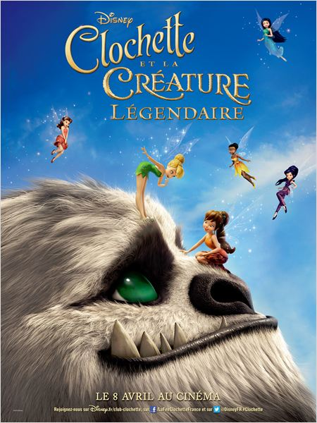 affiche du film Clochette et la créature légendaire