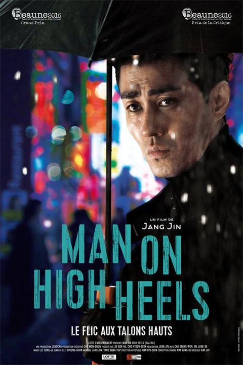 affiche du film Man on High Heels : le flic aux talons hauts