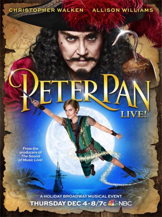 affiche du film Peter Pan Live! (TV)