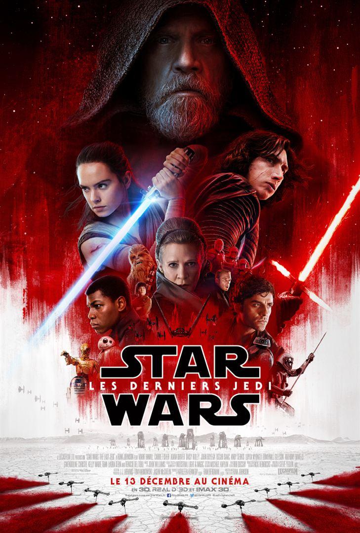 affiche du film Star Wars : Épisode VIII - Les derniers Jedi