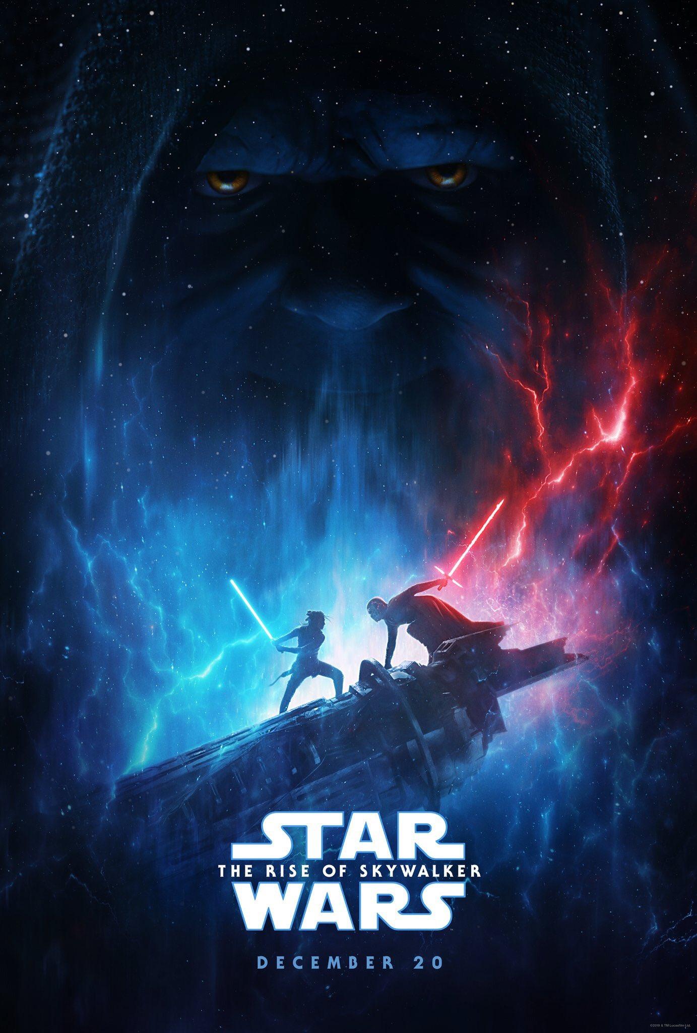 affiche du film Star Wars : Épisode IX - L'ascension de Skywalker
