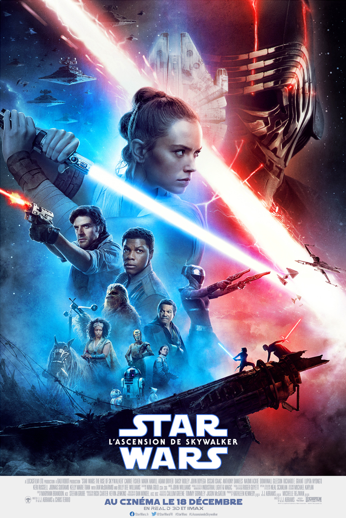 affiche du film Star Wars : Épisode IX - L'ascension de Skywalker