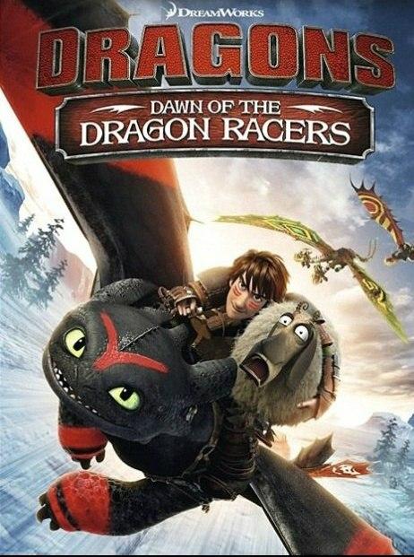 affiche du film Dragons : Première course de dragons (TV)