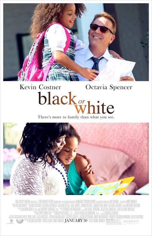 affiche du film Black or White