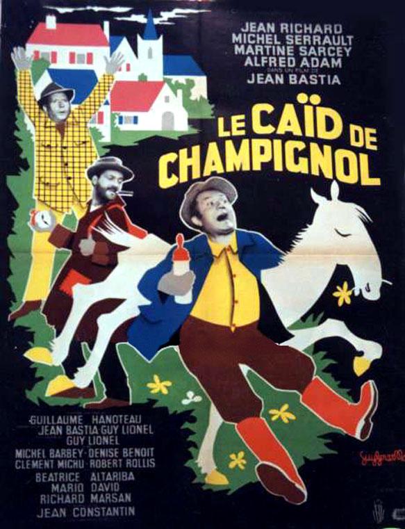 affiche du film Le caïd de Champignol
