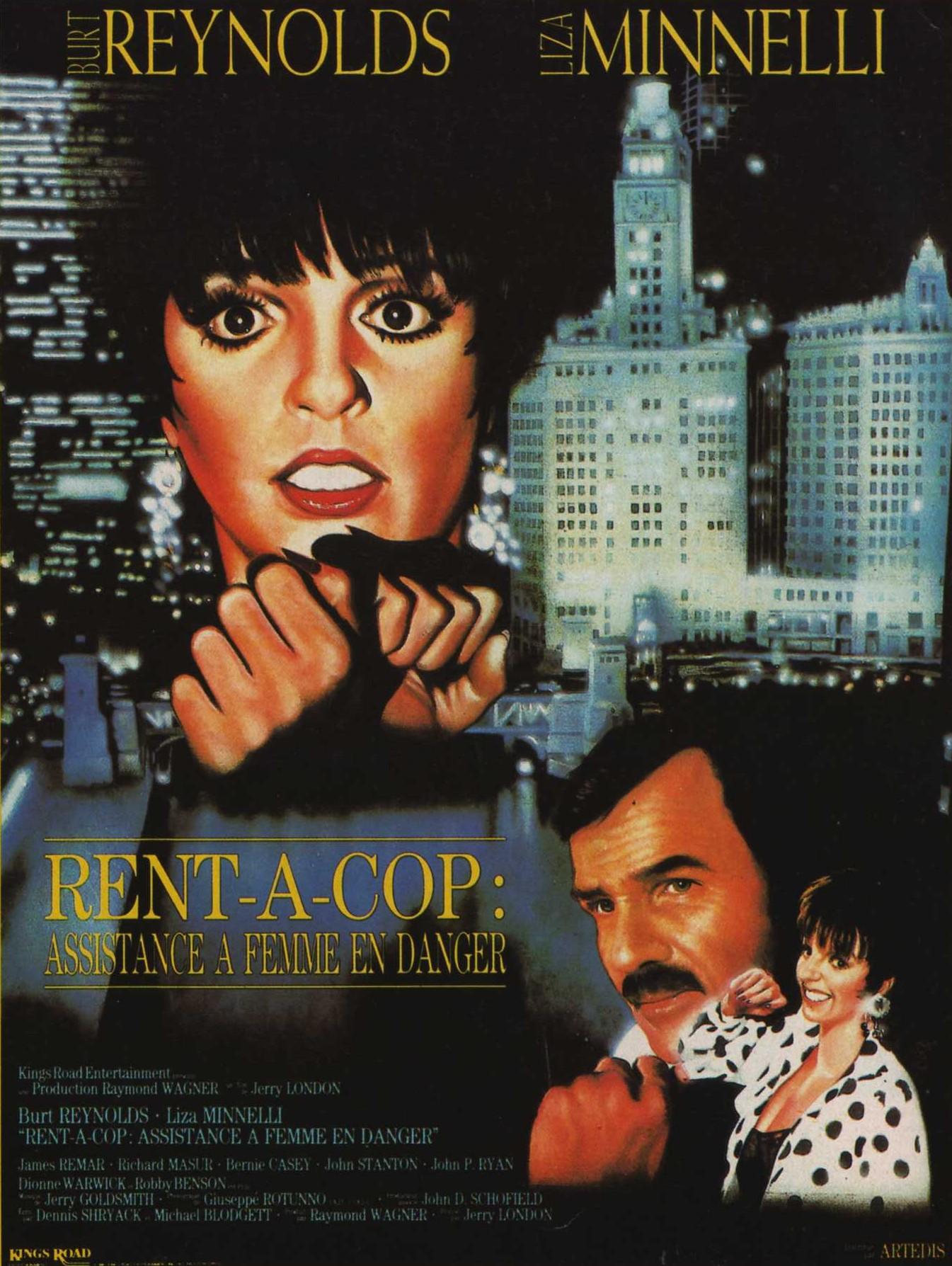 affiche du film Rent a Cop: Assistance à femme en danger