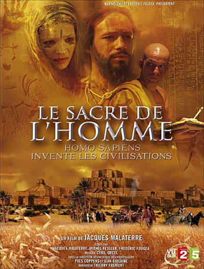 affiche du film Le Sacre de l'Homme