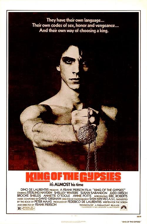 affiche du film Le roi des gitans