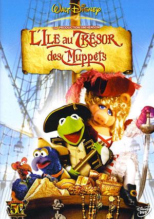 affiche du film L'île au trésor des Muppets