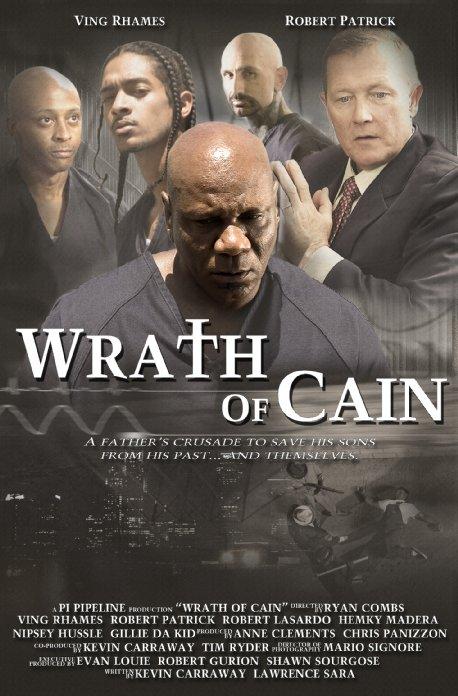 affiche du film The Wrath of Cain